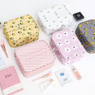化妆包大容量韩版学生可爱少女心便携防水洗漱包小号化妆品收纳包