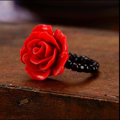 戒指女学生手链潮流玫瑰优雅爱情简约美指环清新复古个性礼物网红