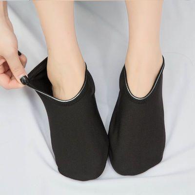 成人春夏薄款地板袜儿童早教点胶防滑袜套居家健身瑜伽袜宽松大码