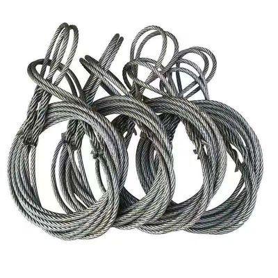 钢丝绳吊索具起重工具插编钢丝绳拖车绳钢丝绳吊起重编头钢丝绳