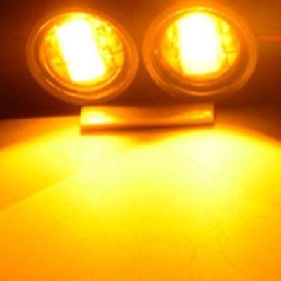 摩托车装饰灯镜子灯鹰眼灯 鬼火改装爆闪彩灯 后视镜螺丝灯倒车灯