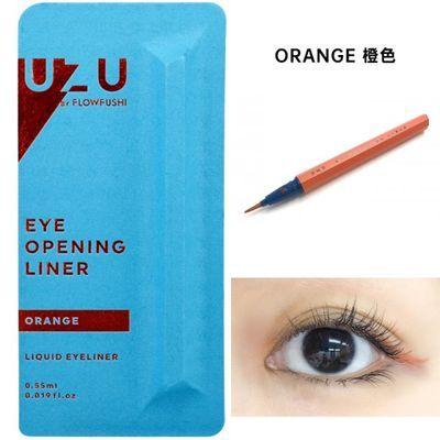 日本熊野职人眼线笔极细防水不晕染FLOWFUSHI moteliner眼线液笔0
