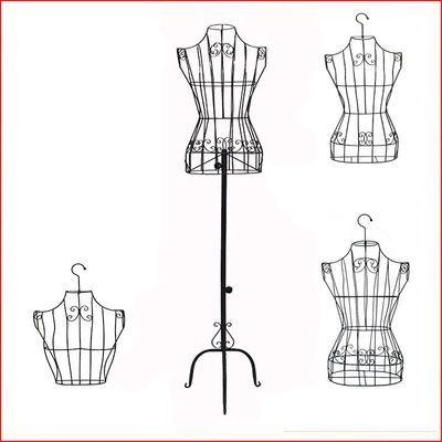 模型做衣服单人服饰店衣钩半身衣架大码铁长裙模特架简单铁架