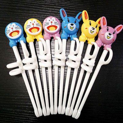 -【2双特价】儿童练习筷子树脂学习训练筷婴儿宝宝学习筷餐具套装