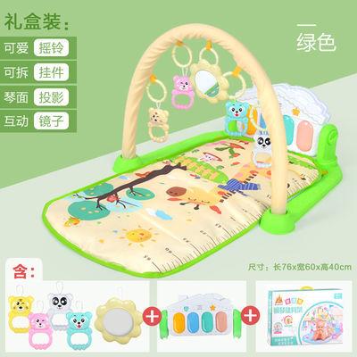 送礼佳品脚踏钢琴健身架器新生儿宝宝音乐游戏毯玩具0-12个月
