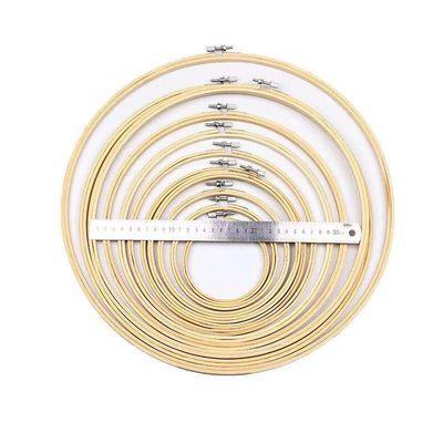 扎染圆环竹木手工DIY材料竹框工具十字绣绷刺绣棚子造纸框框架