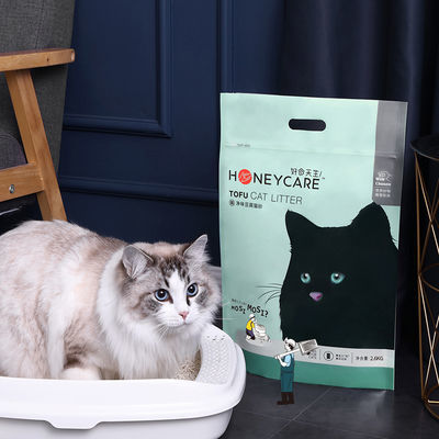 好命天生净味豆腐猫砂除臭无尘结团水晶猫沙猫咪用品