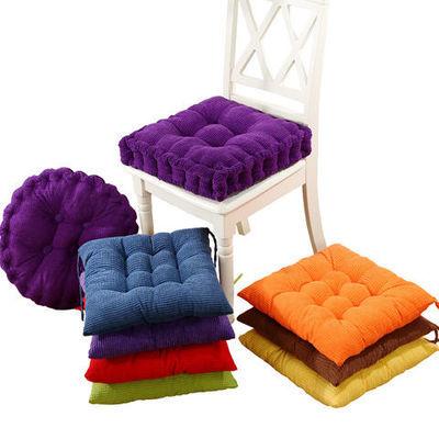 加厚坐垫办公室电脑椅垫学生板凳冬季餐椅垫子座垫