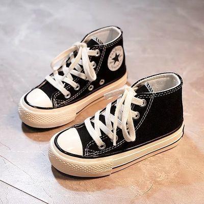 儿童帆布鞋女童鞋小白鞋2020春季韩版复刻新款百搭经典布鞋小白鞋