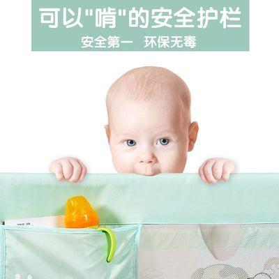 床围栏宝宝防摔防护栏杆婴儿童安全床护栏1.5-2米大床边挡板通用