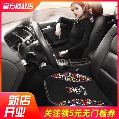 拽猫车用无靠背夏季凉垫汽车单片坐垫四季通用透气三件套小车座垫