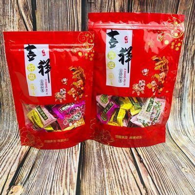 红色送礼佳品包装袋子自立瓜子地瓜干干果糖果腊肠喜糖塑料包装袋