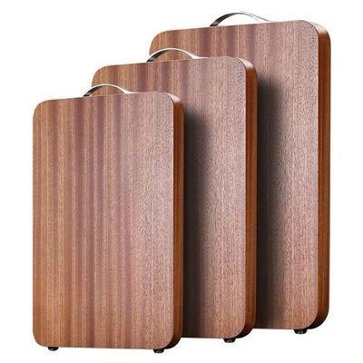 乌檀木菜板实木家用案板厨房砧板整木占板切菜板防霉抗菌粘板