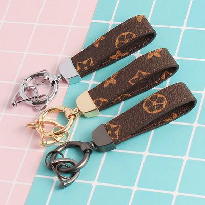 汽车钥匙扣网红挂件适用于宝马奔驰奥迪路虎通用男女钥匙链情侣链