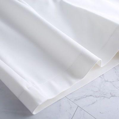 高腰阔腿短裤女夏季宽松夏天外穿2020年新款白色休闲百搭a字西装