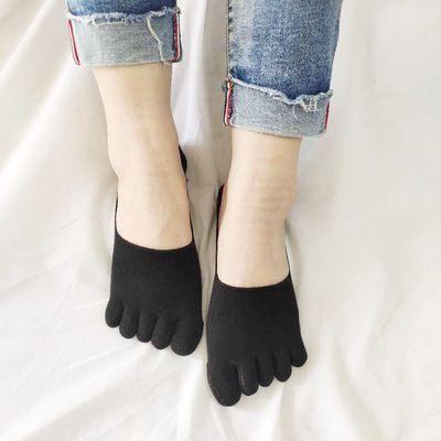 五指袜女士棉中筒加厚分脚指男士棉短筒分趾袜子透气五个脚趾包邮