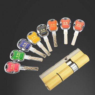 热销整套防盗门锁具套装加厚通用型锁芯锁体全套家用大门锁双快三