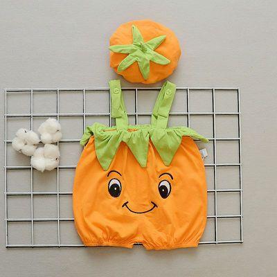 新生儿衣服婴儿连体衣纯棉宝宝哈衣夏季爬服西瓜动物造型衣服拍照
