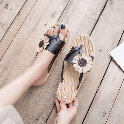 夏新款凉拖鞋女时尚外穿室内软底韩版宿舍防滑家用ins潮人字拖鞋