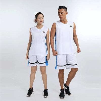 新款篮球服套装男女无袖球衣定制刻字学生儿童比赛训练服队服团购