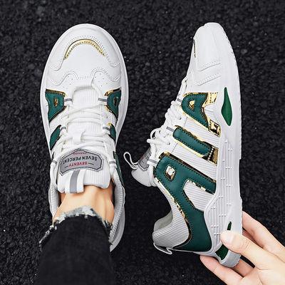 透气帆布鞋男韩版潮流2020夏季新款运动休闲鞋男士小白鞋网面板鞋