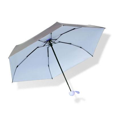 热销钛银胶太阳伞遮阳防晒防紫外线雨伞女晴雨两用小巧便携五折up