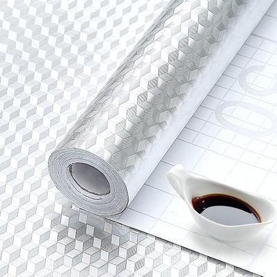 厨房贴纸防油耐高温防火灶台橱柜柜子桌面防水墙纸自粘旧家具翻新