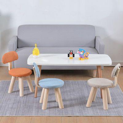 儿童凳子靠背小椅子实木创意可爱卡通动物幼儿园小板凳家用宝宝凳