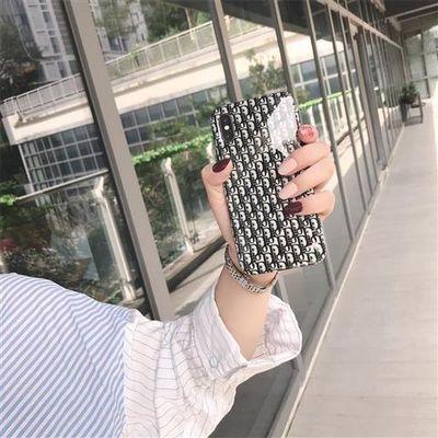 网红大牌D字苹果11pro/SE2手机壳适配iPhone78plu潮牌xsmaxxr女款