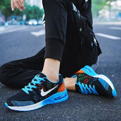 夏季运动鞋男青少年韩版潮流中学生透气网鞋子男初中生春秋跑步鞋