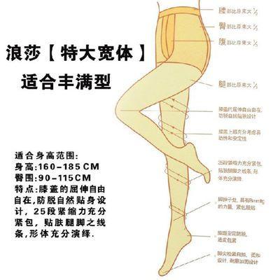 正品浪莎10D/50D/80D/120D连裤袜加厚胖mm加肥加大码丝袜打底裤女