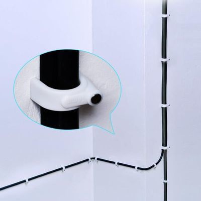 电线固定器线卡卡扣网线走线神器插排线卡子扣墙壁面藏线理线钉子