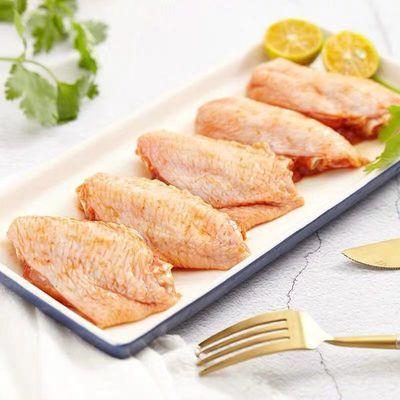 新鲜冷冻清真鸡翅中批发零食烧烤奥尔良烤翅生鸡中翅可乐鸡翅食材