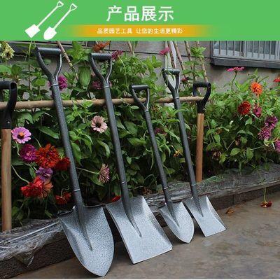 铁锹农用户外挖土小铲子全钢加厚园艺铁铲种花菜工具家用赶海神器