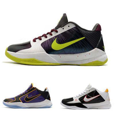 科比五代篮球鞋 男女实战运动鞋 kobe zk5低帮耐磨防滑战靴