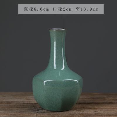 陶瓷小花瓶清新具客厅桌面小摆件装饰创意花器花干花植物水培容器