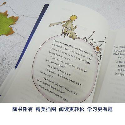 【特价】全3册|中英文对照版全彩色小王子书正版+了不起的盖茨比+