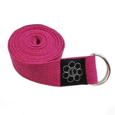 瑜伽带伸展带纯棉瑜伽拉力带瑜伽伸展带拉筋带瑜伽绳拉延伸瑜伽绳