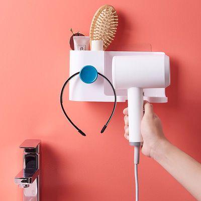 多功能吹风机置物架家用收纳置物架免打孔卫生间卫浴架风筒架子