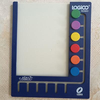 新品新版逻辑狗幼儿园教材版教学版托班小班中班大班卡片6钮10钮