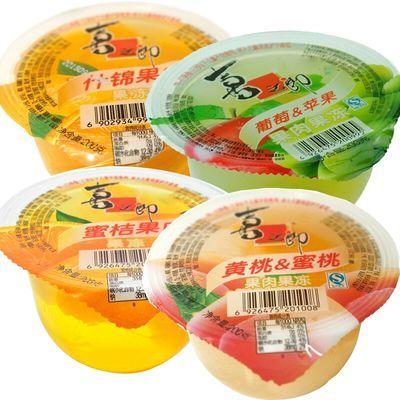 喜之郎什锦果肉果冻200g大杯果冻布丁儿童零食