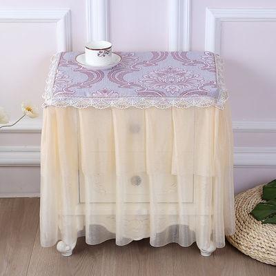 多用盖巾床头柜罩布艺小桌布空调罩盖布万能盖布防尘布艺蕾丝
