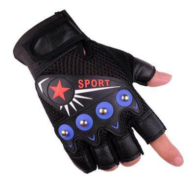 半指手套男女骑行健身战术山地车自行车防滑耐磨户外漏指头防晒