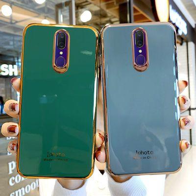 oppoa9手机壳oppoa9x全包边电镀金边保护套A9超薄防摔硅胶软壳女a