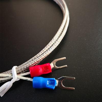 K型M6螺钉式热电偶PT100型感温线温控仪传感器螺钉热电偶