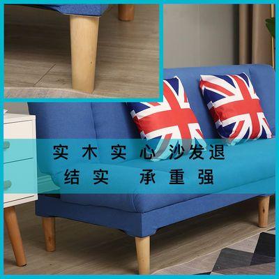 热卖沙发床两用小户型多功能可折叠卧室简易沙发客厅懒人布艺沙发