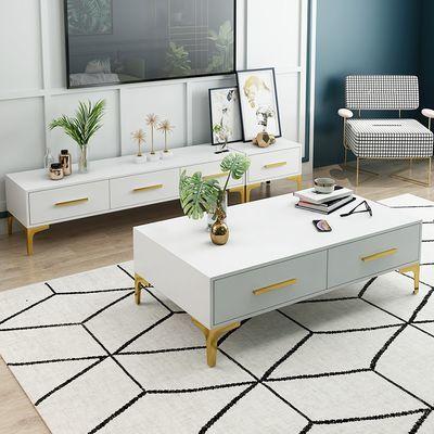 热卖北欧电视柜茶几组合套装现代简约小户型客厅卧室大户型现代电