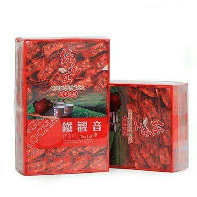 2020铁观音茶叶一级兰花香浓香型新茶茶袋装礼盒装绿茶茶叶500g