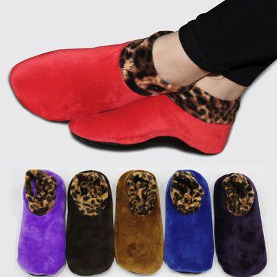 多双装男女士居家地板袜瑜伽袜子防滑点胶袜底秋冬厚袜套厚底加绒