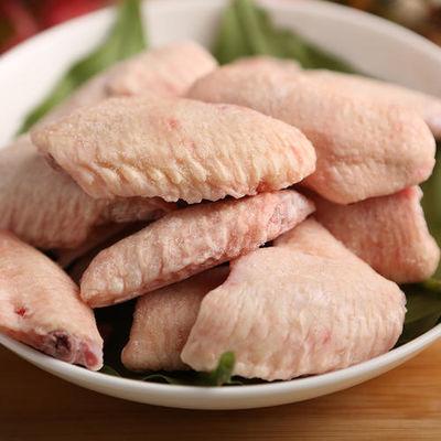 批发冷冻鸡翅中 2斤1袋 个头大 新鲜冷冻 鸡翅膀 可乐鸡翅